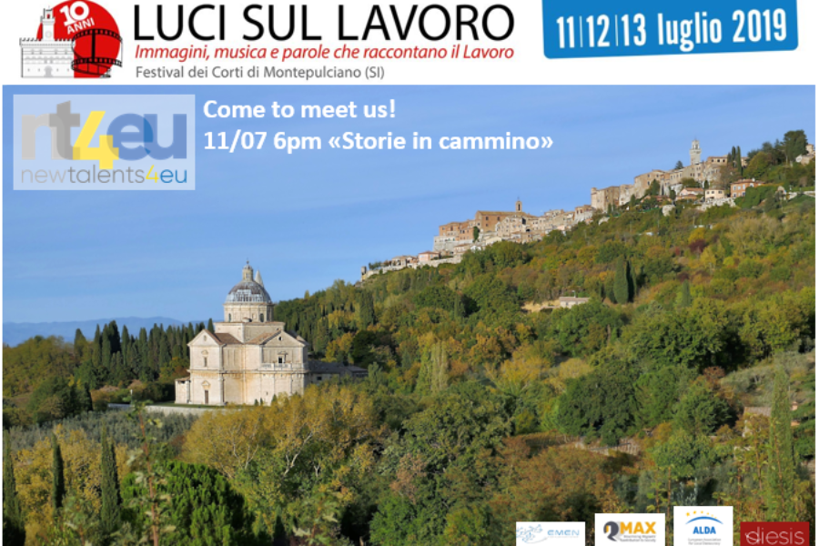 NT4EU will be at Luci sul lavoro!