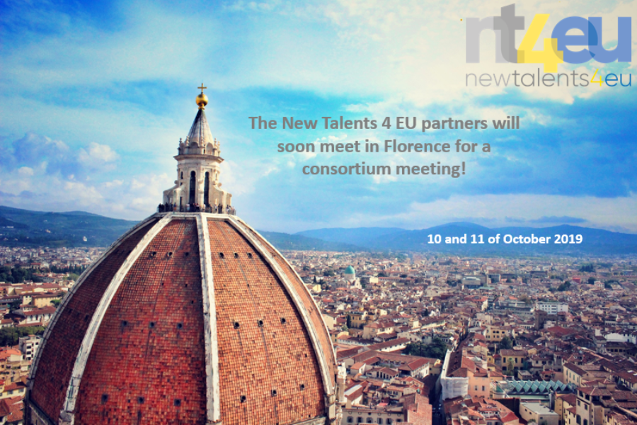 New Talents 4 EU partners will go to Italy!